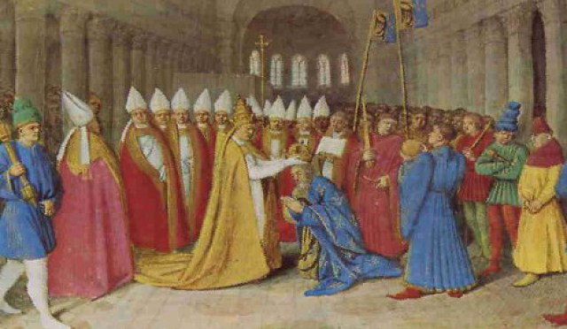 carlomagno rey de los francos