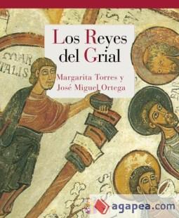 """Portada del libro """"Los Reyes del Grial"""" en el que se aprecia el detalle del Copero Marcio"""