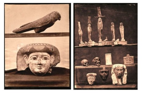 Fotografía de los fondos que E. Toda adquirió para el MAN [http://revista.legadoandalusi.es] actualmente todas se pueden ver en el museo.