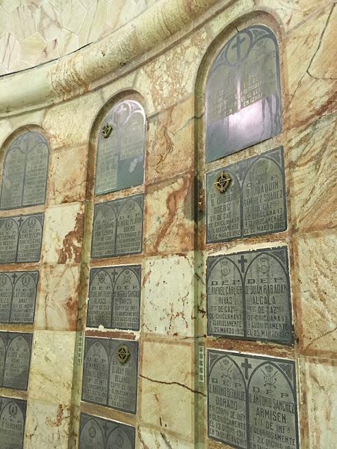 Parte del Interior del Panteón de Héroes de Melilla