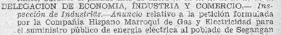 Solicitud de trabajos en la Zona del Protectorado Español en Marruecos (Boletín del Protectorado n13 Marzo 1950)