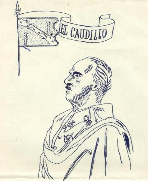 Ilustración con F.Franco