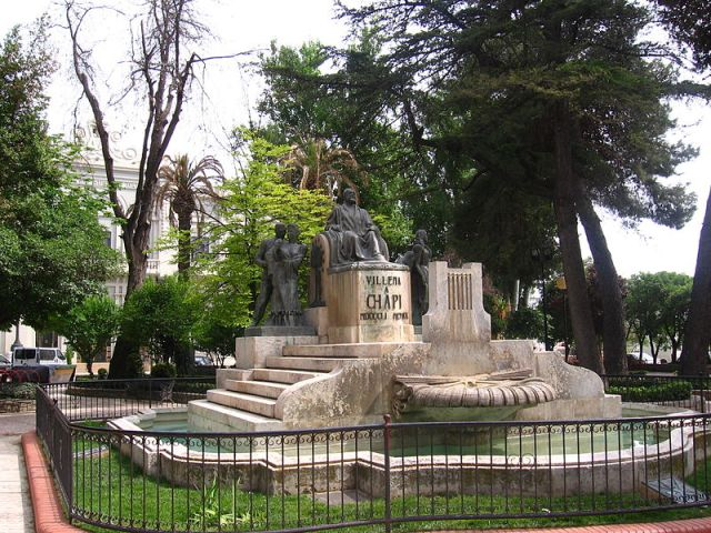 Monumento a Chapí en Villena