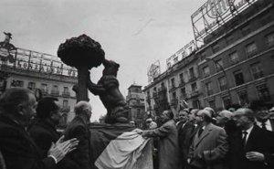 """Inauguración del """"Oso y el Madroño"""""""