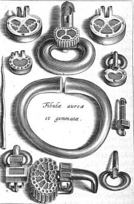 Torques y adornos - Ilustraciones del Libro de Chiflet