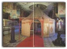 Tienda de Carlos V ubicada en el interior del Palacio de Reinos