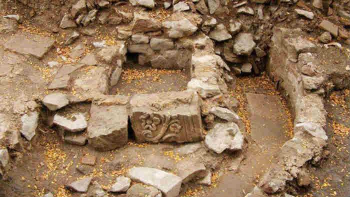 Restos en Aquae Calidea [foto: www.burgasmuseums.bg]