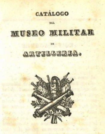 Catalogo del Museo de Artillería (1849)