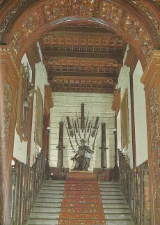 La escalera... esta sí que era monumental