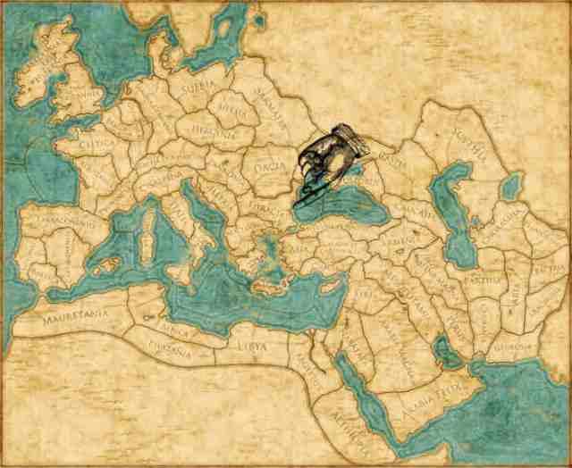 Ubicación de Tracia [Mapa de Rome Total War]