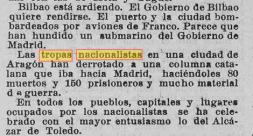 La Guinea Española : periódico quincenal Año XXXIII Número 942 - 1936 octubre 4