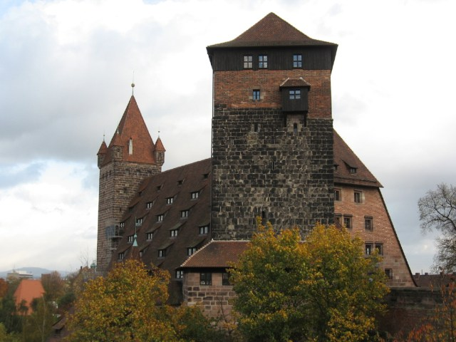 Nuremberg-Kaiserburg