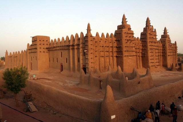 La Gran Mezquita de Djenné