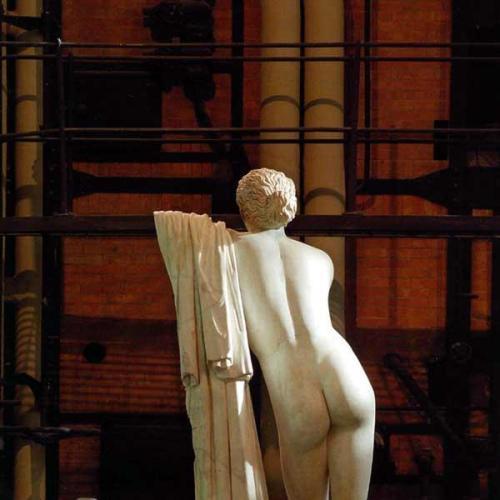 Estatua de Pothos, hijo de Afrodita (Foto: Web Oficial)