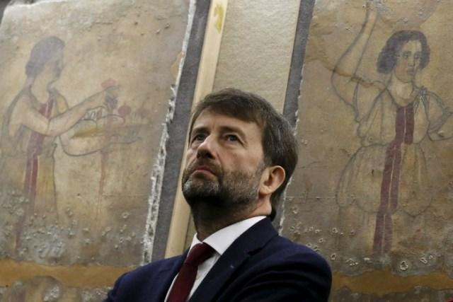 Dario Franceschini, Ministro de Bienes Culturales de Italia