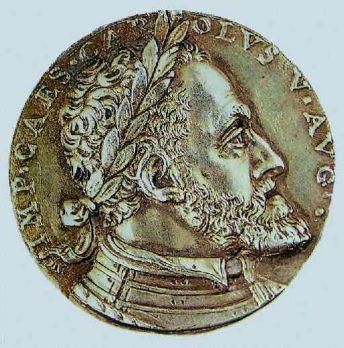 Medalla conmemorativa Carlos V