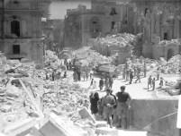 Daños en Malta durante el sitio en 1940
