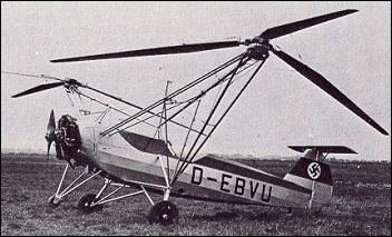 Focke Wulf Fw61