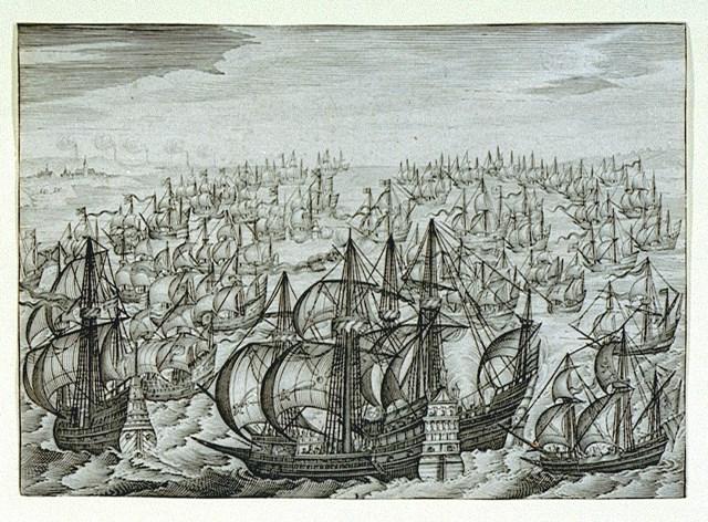 Escuadra Española ( c 1588)