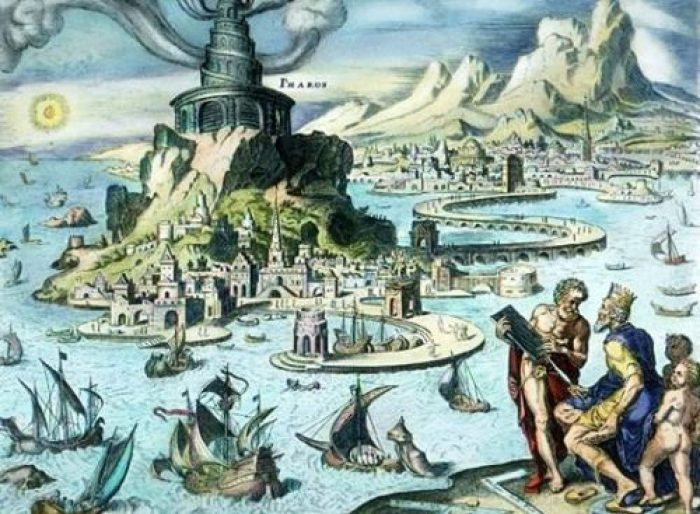 El Faro, según van Heemskerck