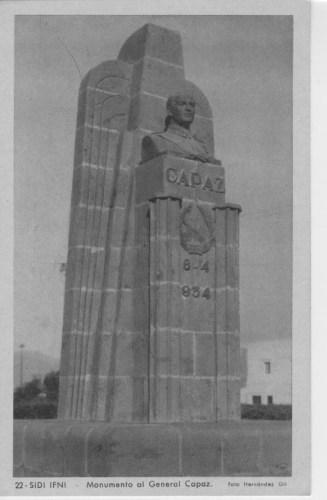 Monumento a Capaz en Ifni
