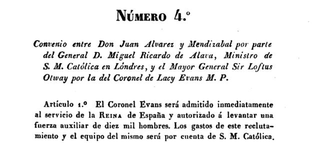 Artículo en el que se asume el pago por parte de la Reina regente de España
