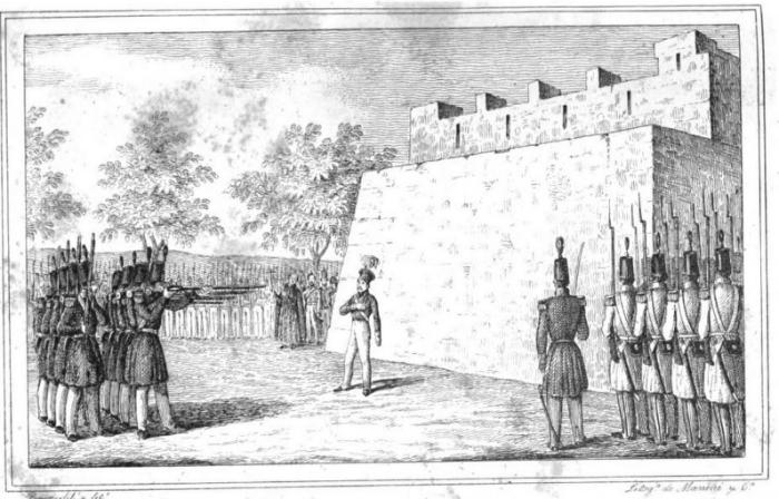 Fusilamiento de Diego de León