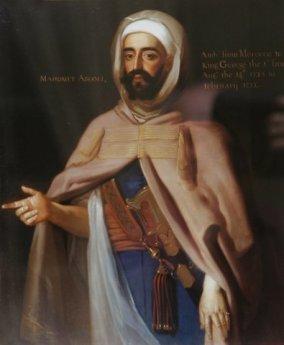Mohammed Ben Ali Abgali,embajador en la corte inglesa entre 1725 - 1726