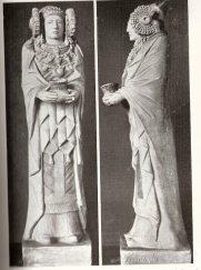 Hipotética reconstrucción de la Dama de Elche