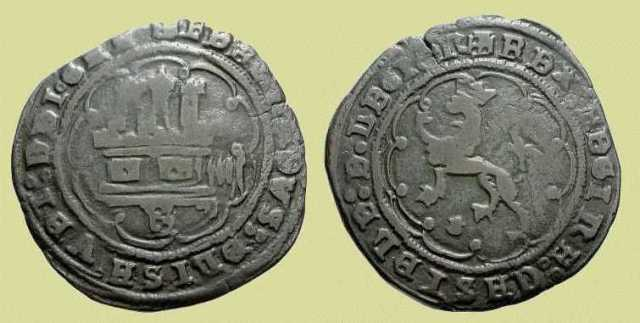Maravedís. Burgos, 1497