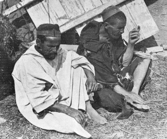 Francotiradores capturados en 1921