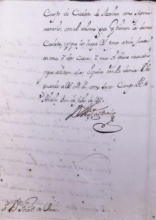 Archivo del Museo Naval 0499/Ms.1456 Colección Guillén. Miscelánea. Subsistema Archivístico de la Armada.