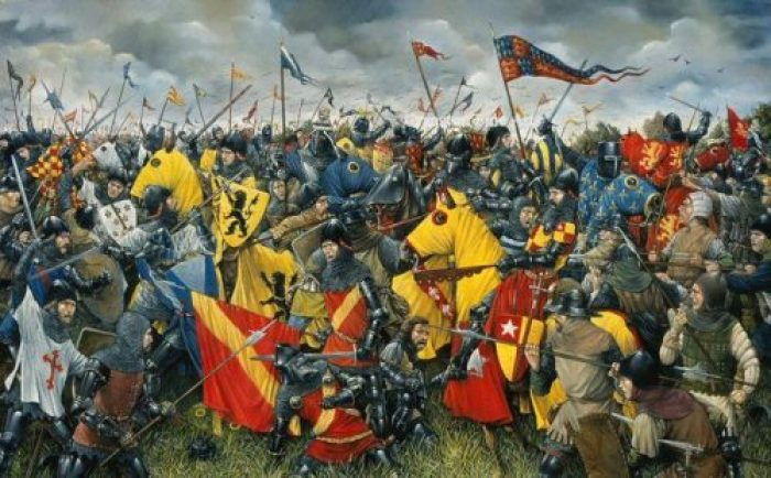 Hundrer Years War - por Brian Palmer