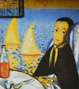 'Autorretrato de un niño enfermo'. Dalí, 1923.