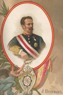 Retrato de Juan Nepomuceno Burriel y Linch