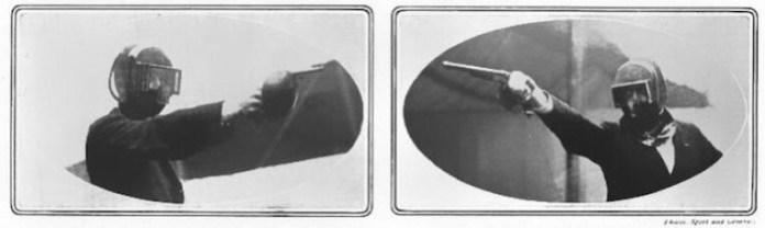 Duelista en 1908