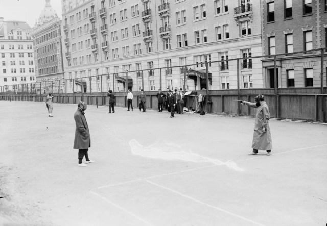 Duelo en Nueva York, 1909