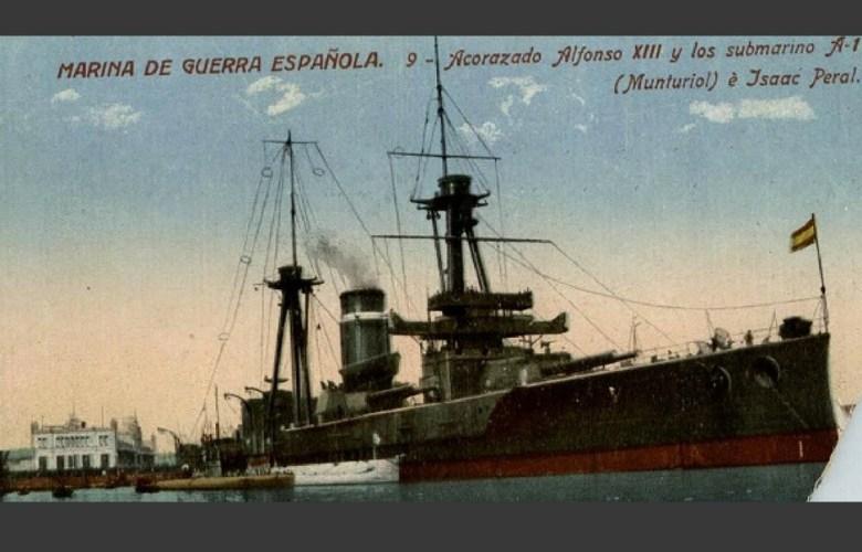 primer submarino españa
