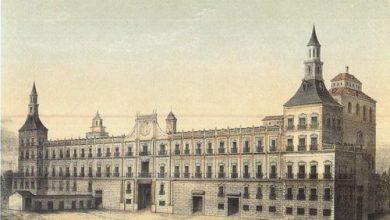 El Real Alcázar de Madrid hacia 1710.