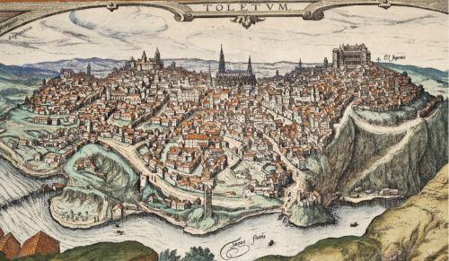 Vista de Toledo en 1566 (Hoefnagel, Joris, 1542-1600 )