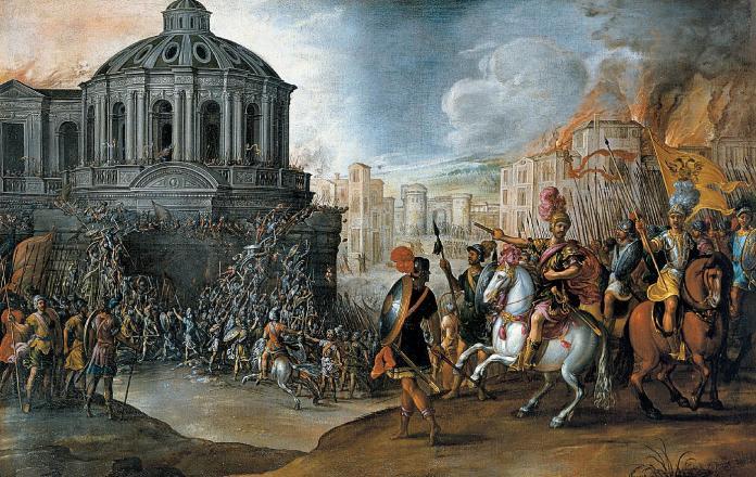 El Saco de Roma en 1527