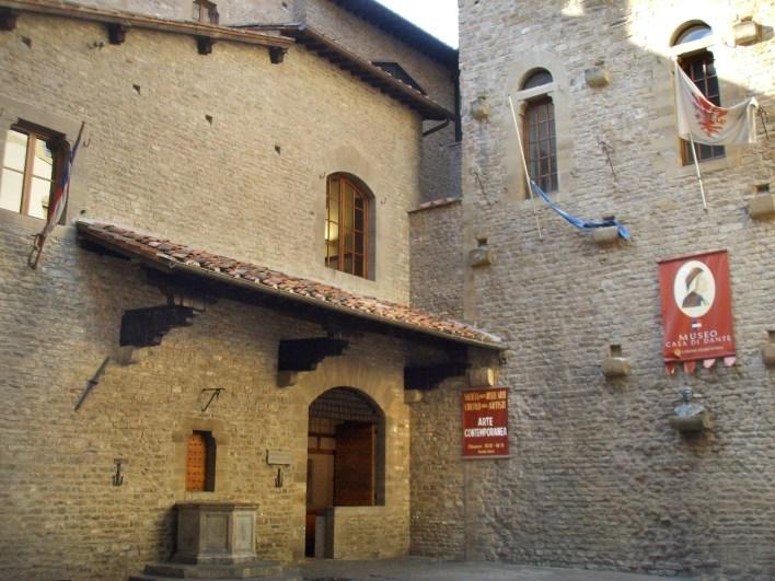 Casa de Dante en Florencia