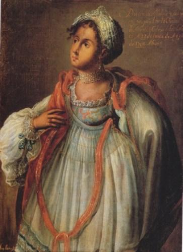 """""""Diseño de mulata"""" de Manuel Arellano, podría ser un ejemplo de la apariencia de Claudia,"""