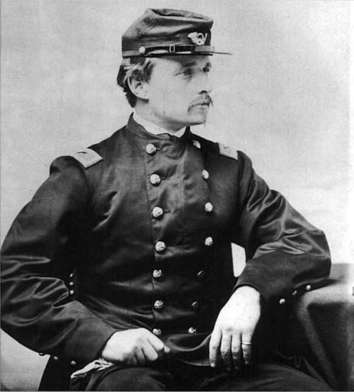 Robert Gould Shaw en mayo de 1863 (wikimedia)