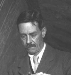 Arthur Mace, egiptólogo británico y amigo de Howard Carter