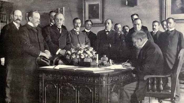 El Tratado de París, firmado el 10 de diciembre de 1898,