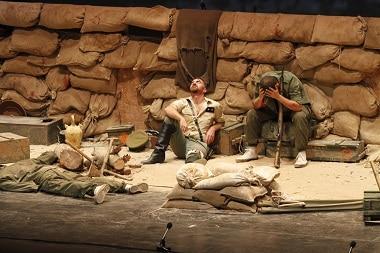 Fotografía de la obra de teatro dirigida por Paco Casaña (2009)