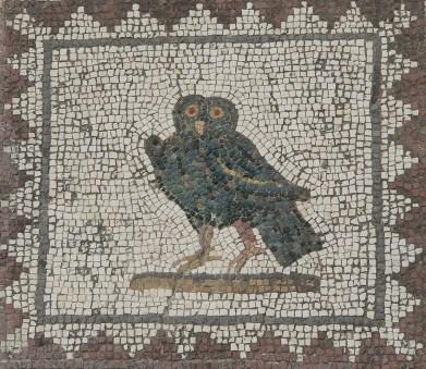 Mosaico de la Casa de los Pájaros.