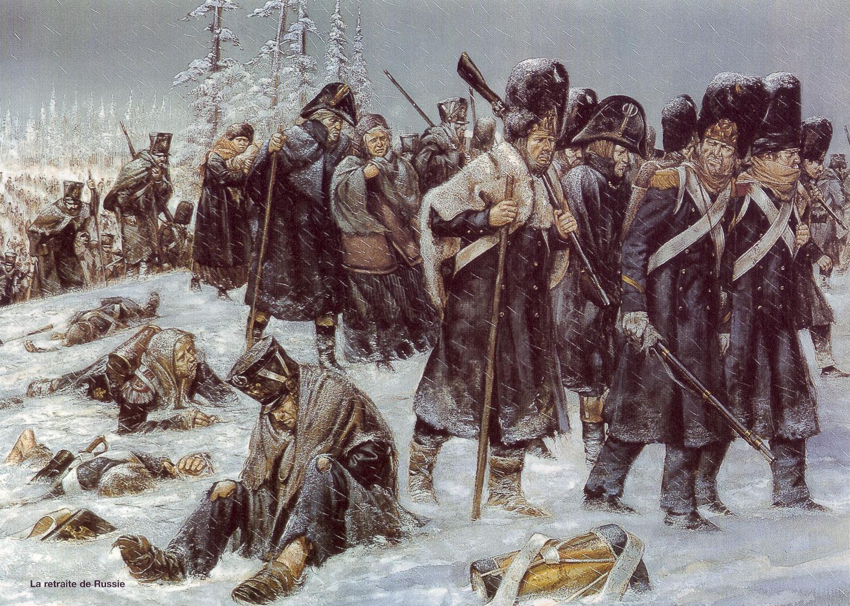 Cuando Napoleón la lio parda en Rusia