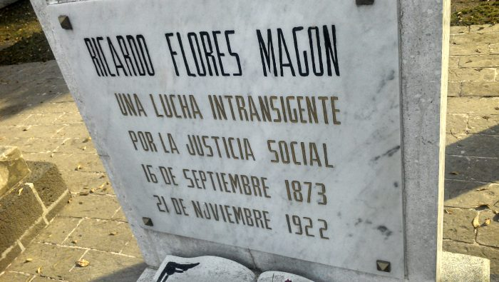 Tumba de Ricardo Flores Magón (wikimedia)